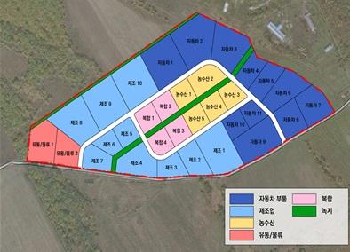 토지이행계획도