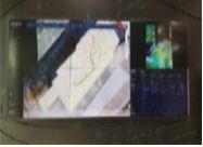 위치정보 모니터링 화면