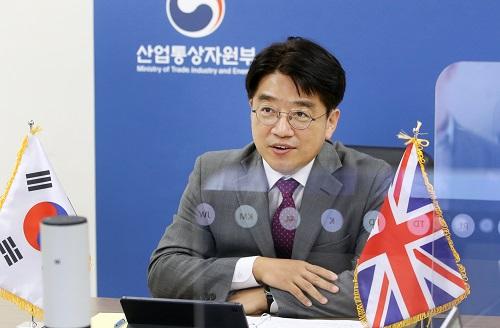 양기욱 산업통상자원부 FTA정책관 발언 모습